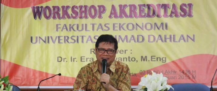 Tingkatkan Mutu, Fakultas Gelar Workshop Akreditasi