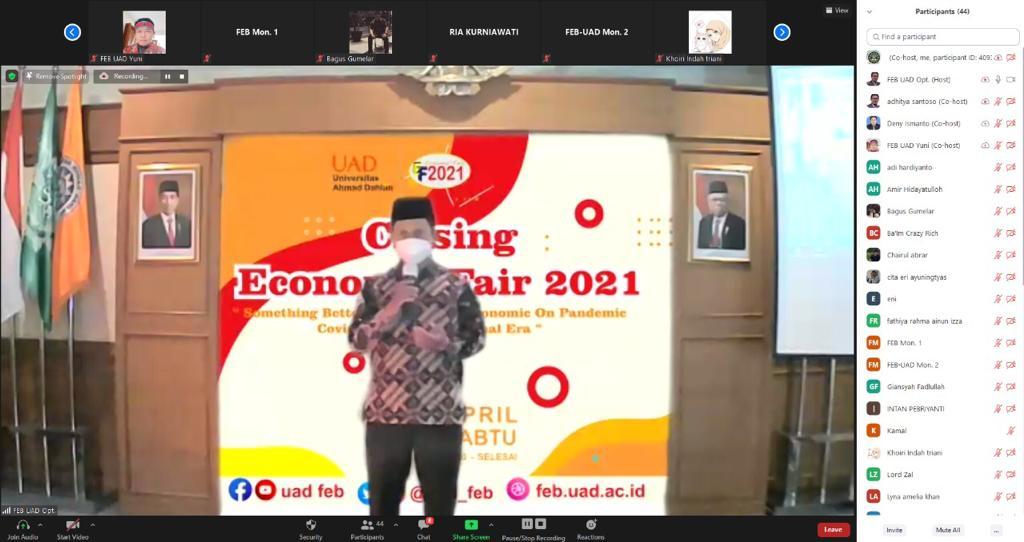VLOG MOTIVASI ISLAMI – ECONOMIC FAIR 2021