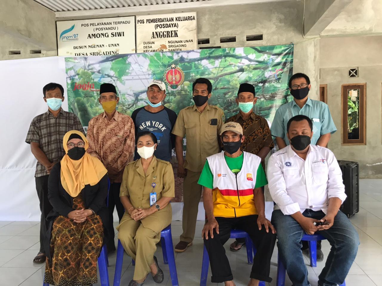 Dosen FEB-UAD melakukan pendampingan pembentukan Kawasan Eko Edu Wisata di Dusun Ngunan Unan, Desa Srigading, Kecamatan Sanden, Kabupaten Bantul.